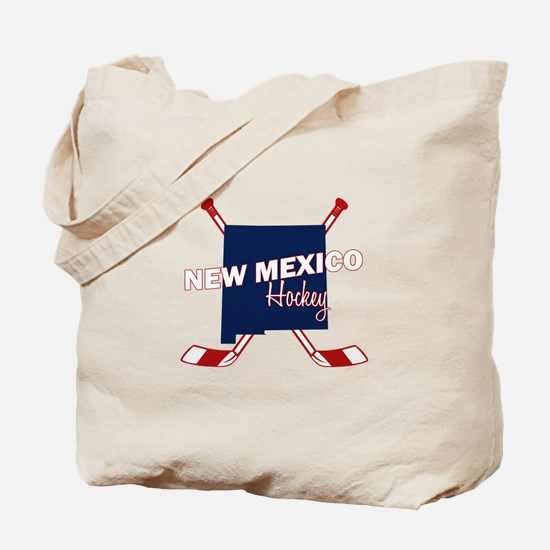 New Mexico Hockey Tote Bag
