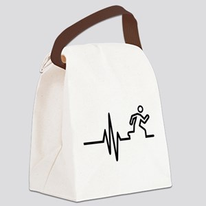 Runner frequency Canvas Lunch Bag