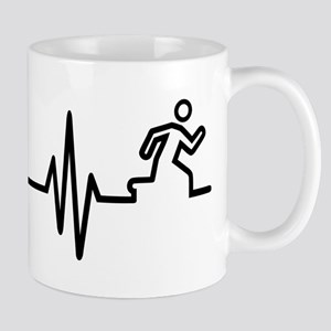 Runner frequency Mug