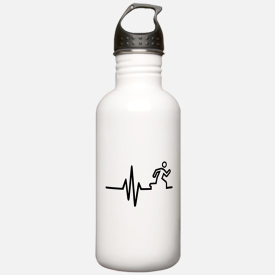 Runner frequency Water Bottle