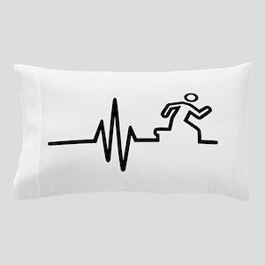 Runner frequency Pillow Case