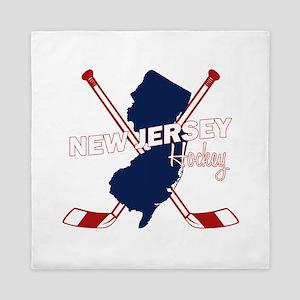 New Jersey Hockey Queen Duvet