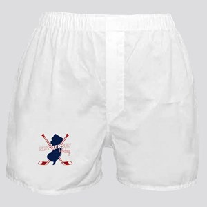 New Jersey Hockey Boxer Shorts