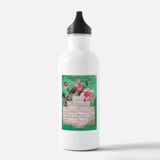Vintage poster - F. Ba Water Bottle