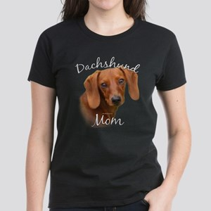 Dachshund Mom2 Women's Dark T-Shirt