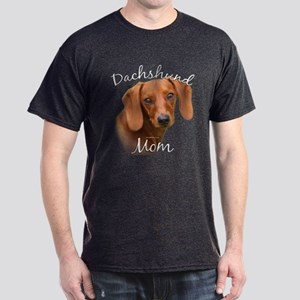 Dachshund Mom2 Dark T-Shirt