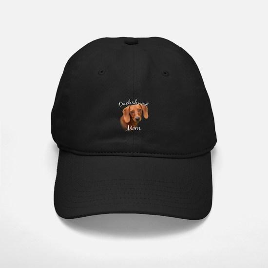 Dachshund Mom2 Baseball Hat
