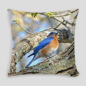 Bluebird Everyday Pillow