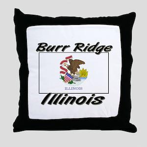 Burr Ridge Illinois Throw Pillow