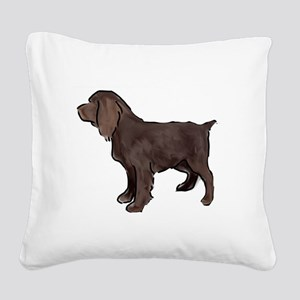 Boykin spaniel Square Canvas Pillow