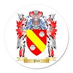 Piet Round Car Magnet