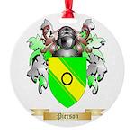 Pierson Round Ornament