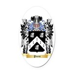 Piers Oval Car Magnet