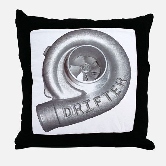 Cool Turbo Throw Pillow