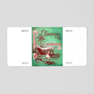 Vintage poster - Kansas See Aluminum License Plate