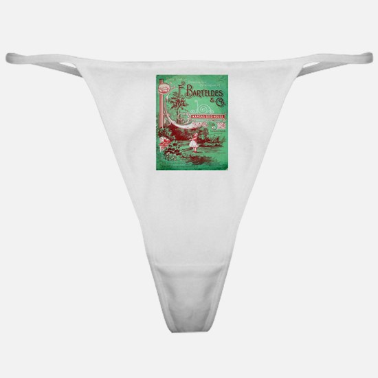 Vintage poster - Kansas Seed House Classic Thong