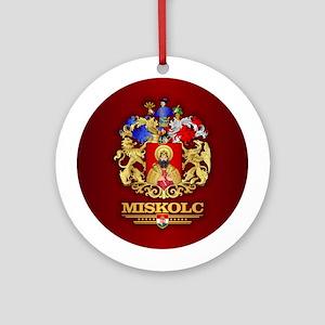 Miskolc Round Ornament