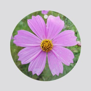 FLOWERS Round Ornament