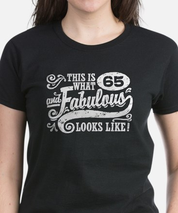 65th Birthday Women's Dark T-Shirt