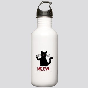 meow fuck you cat Stainless Water Bottle 1.0L