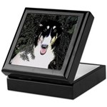 Borzoi Portrait Keepsake Box