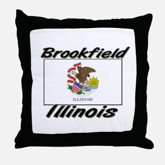 Brookfield Illinois Throw Pillow
