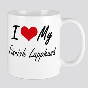 I love my Finnish Lapphund Mugs