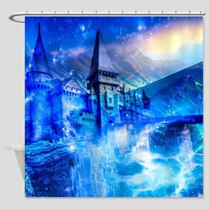 Castle of Glass Shower Curtain