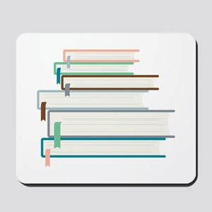 Stack Of Books Mousepad