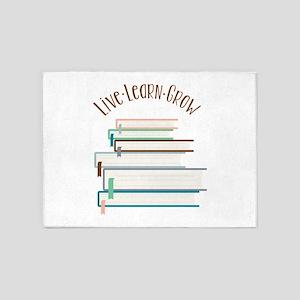 Live Learn Grow 5'x7'Area Rug