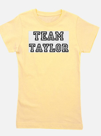 Team Taylor Ash Grey T-Shirt