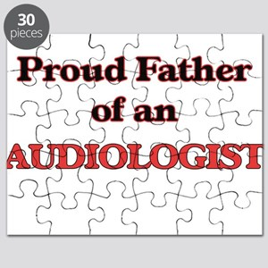 Proud Father of a Audiologist Puzzle