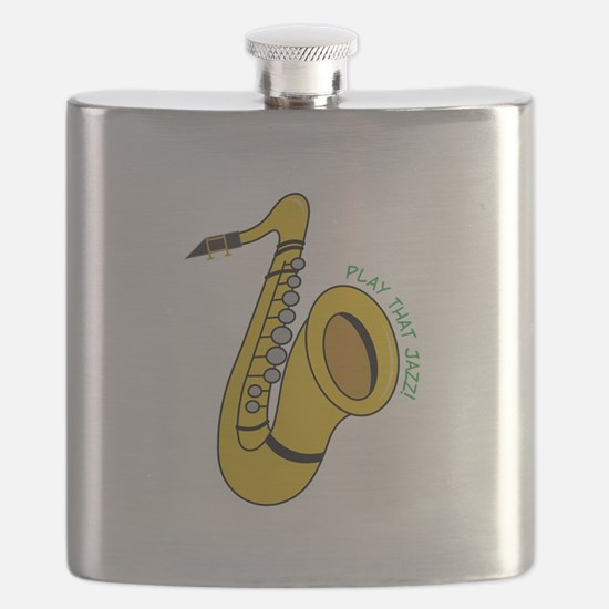 Play That Jazz Flask