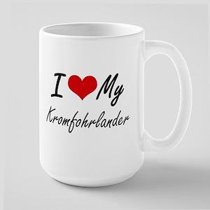 I love my Kromfohrlander Mugs