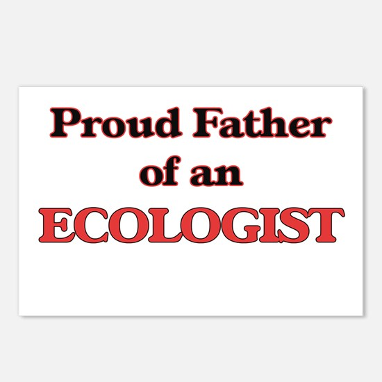 Proud Father of a Ecologi Postcards (Package of 8)