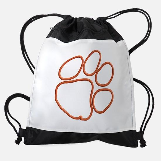 Tiger Paw Drawstring Bag