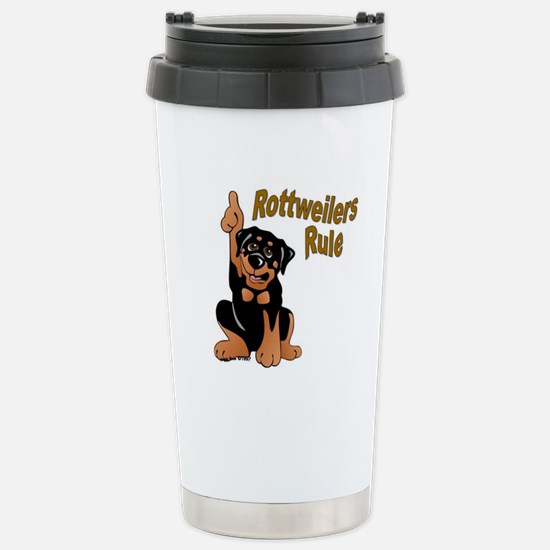 Rottweilers Rule Mugs