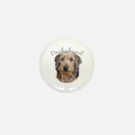 Dachshund Dad2 Mini Button