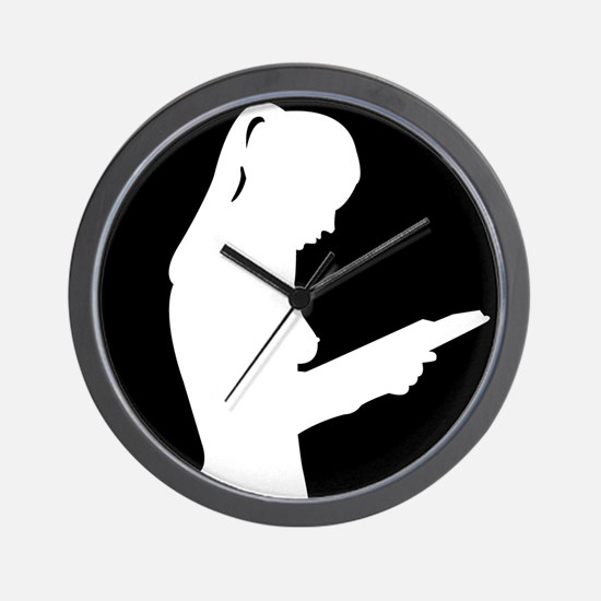 Funny Reading is sexy Wall Clock