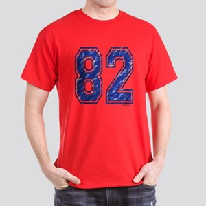 82 Jersey Year Dark T-Shirt