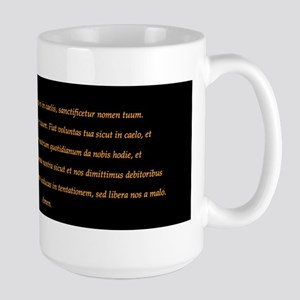 "Pater Noster (""Our Father"") Coffee Mugs"