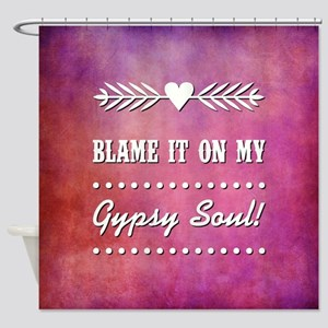 BLAME IT ON... Shower Curtain