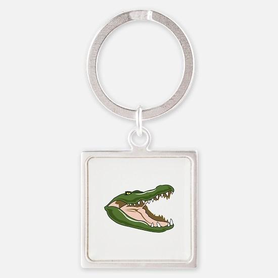 Gator Head Keychains
