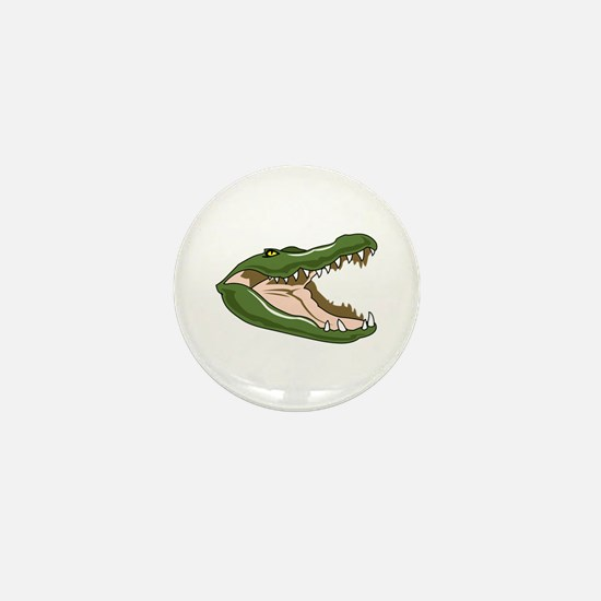 Gator Head Mini Button