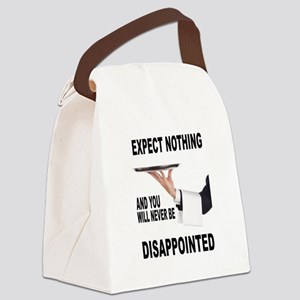 DISAPPOINTED Canvas Lunch Bag