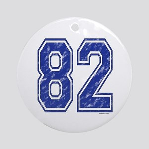82 Jersey Year Ornament (Round)