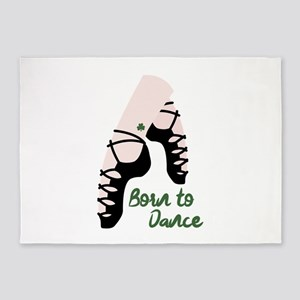 Born To Dance 5'x7'Area Rug