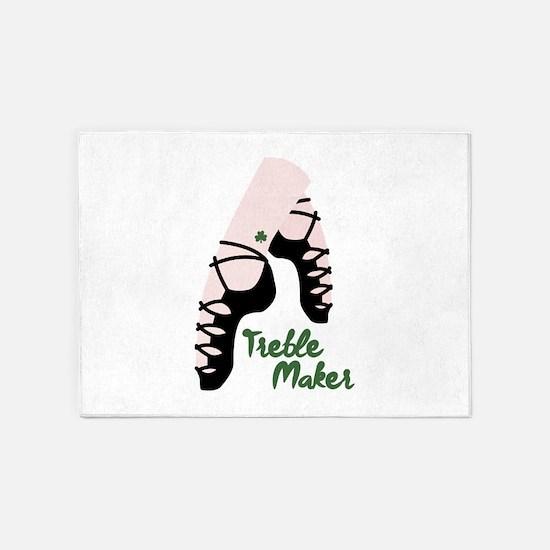 Treble Maker 5'x7'Area Rug