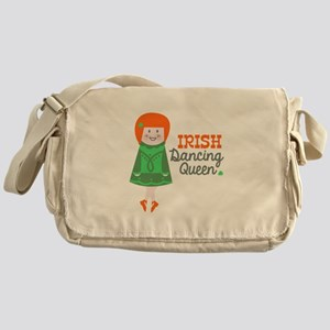 Irish Dancing Queen Messenger Bag