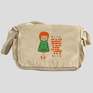 Can You Jig It Messenger Bag